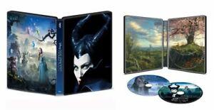 Nuevo-Precintado-Disney-039-s-malefica-STEELBOOK-4K-Ultra-Hd-Blu-ray-Codigo-Digital
