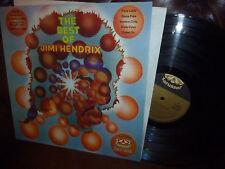 "Jimi Hendrix, The Best Of, Progressive, German Karusell 2499043 LP, 12"" Vinyl"