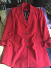 A Loverly Smart Lady's Woman's Suit Look Long Coat /Jacket By Wardrobe - Size 22