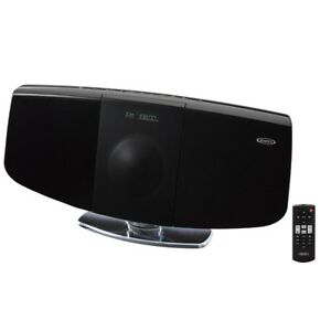 Image Is Loading Stereo Shelf Systems Bluetooth Bookshelf Wall Mountable Music