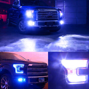 Details About Combo H13 9008 Led Headlight Bulbs 9145 Fog Light For Ford F 250 F 350 05 19