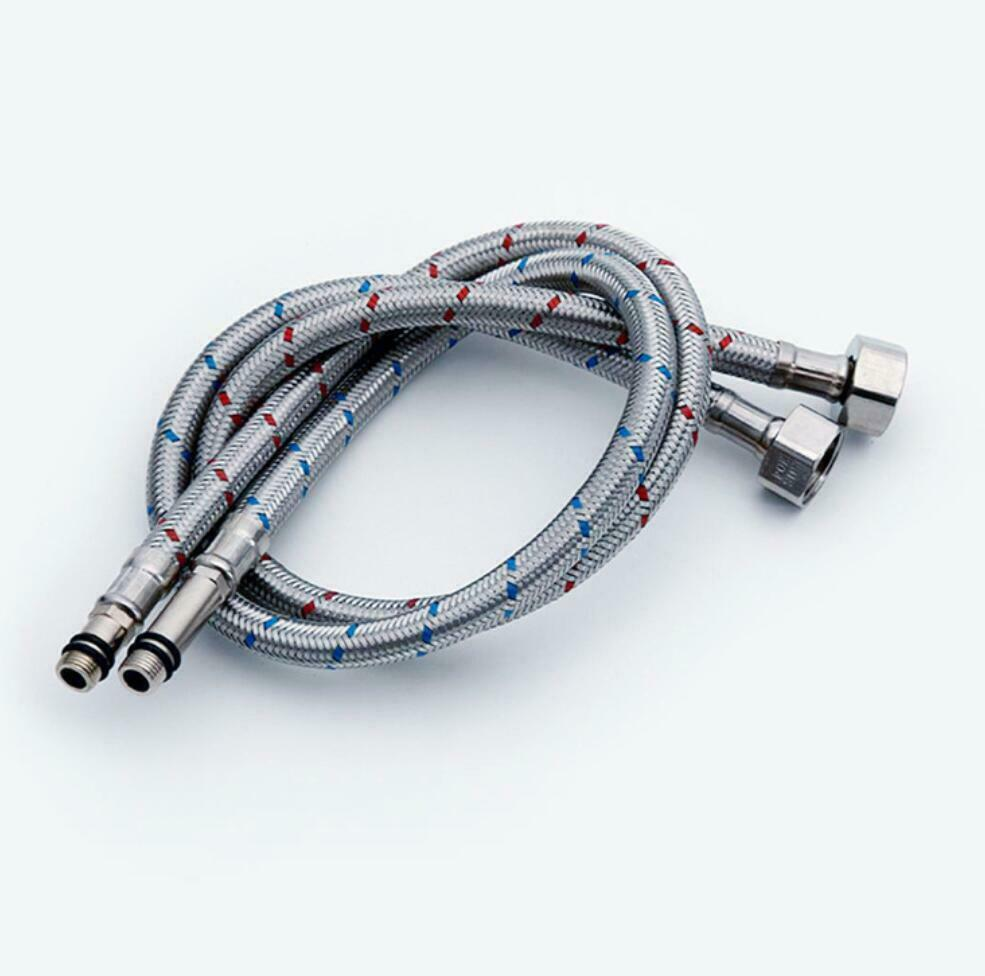 2pcs Flexible Kitchen Basin Braided Mixer Tap Connector Tail Hose Pipe For Sale Online Ebay