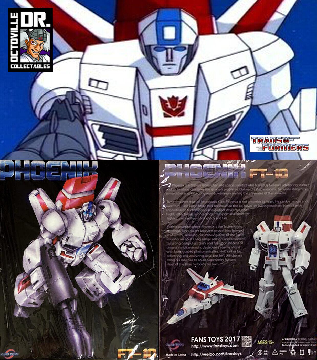 Transformers obra maestra auténtico FansJuguetes FT-10 Phoenix MP Skyfire Nuevo
