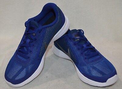 Nike Revolution 3 (GS) Royal BlueGreyBlack Boy's Running Shoes Size 3.5Y NWB   eBay
