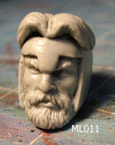 "ML011 Hercules Custom Cast head sculpt use w//6/"" Marvel Legends figure"