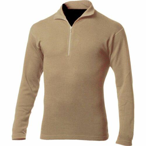 Desert Sand Minus33 Merino Wool Isolation Midweight 1//4 Zip Top