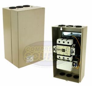 30 HP Single 3 Phase 230 Volt Magnetic Starter 100 Amp Motor Control New