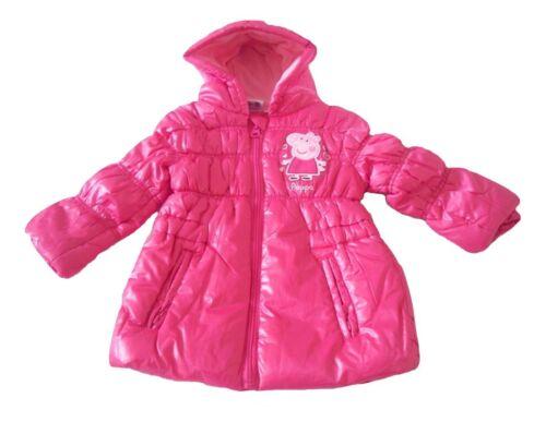 Baby Girls//Boys Coat Peppa Pig Or George Pig 12-30 Months