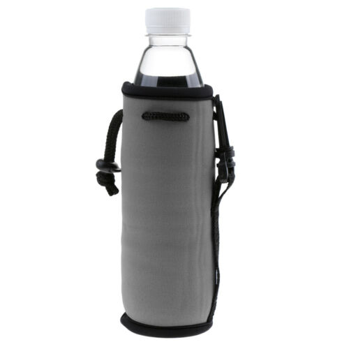 Portable Neoprene Water Bottle Cooler Carrier Cover Sleeve Tote Bag Pouch
