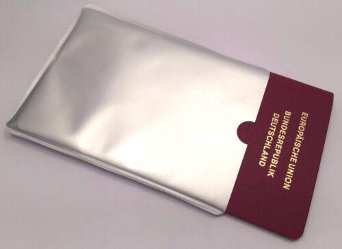 1 NFC SchutzhülleNFC BlockerSicherheit für Ihren ReisepassDatenschutz