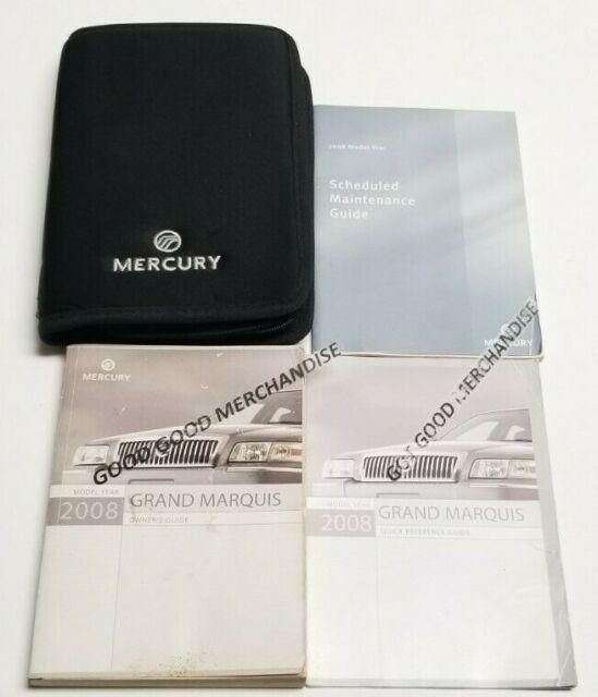 2008 Mercury Grand Marquis 4 6l Flex Fuel Sohc 8cyl Manual Guide