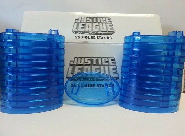 JUSTICE LEAGUE UNLIMITED 25 FIGURE STANDS N6454