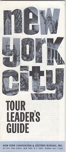 1966-New-York-City-Tour-Leader-039-s-Guide-Brochure-22-pages-NY-r12