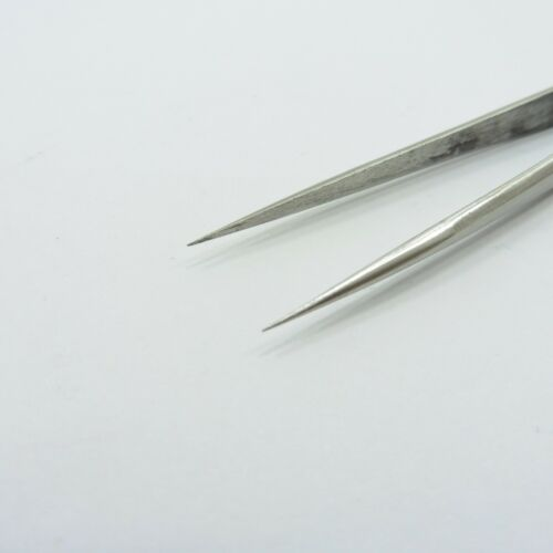 Details about  /ST-11 Anti Magnetic Very Fine Tip Tweezers Static Precision Repair Tool