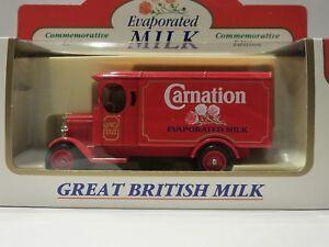 Lledo Days Gone 1931 Morris Van with Carnation Evaporated Milk decals