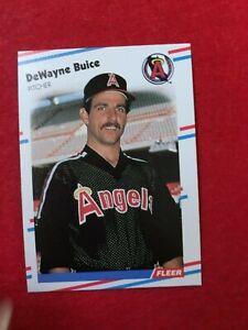 BASEBALL-TRADING-CARD-FLEER-1988-487-DEWAYNE-BUICE-SS63
