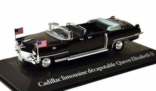 Cadillac Limousine cabriolet Queen Ellizabeth II coche presidencial 1:43 Norev