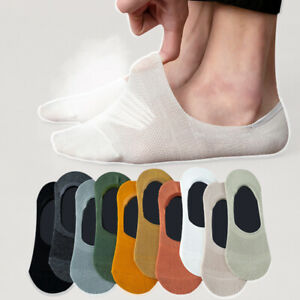 1//5 Pairs Women Men Cotton Invisible No Show Loafer Boat Liner Low Cut Socks New