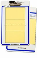 Champion Dry Erase 2 Sided Volleyball Coaches Board Marker Size 11x16