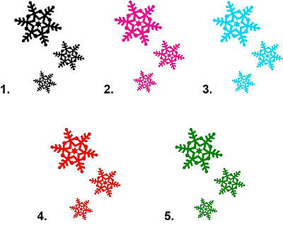 Waterslide Snowflake Nail Decals Set of 20 - Christmas Holiday Snowflakes