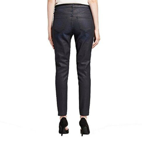 Mossimo Misses//Womens Coated Power Stretch Jeans Mid-Rise Jeggings Black//Blue