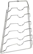 CONVENIENT Over the Door Cabinet Pot And Pan Lid Rack Holder Organizer Storage