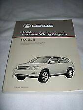 OEM GENUINE 2004 LEXUS RX 330 RX330 WIRING DIAGRAM BOOK ...
