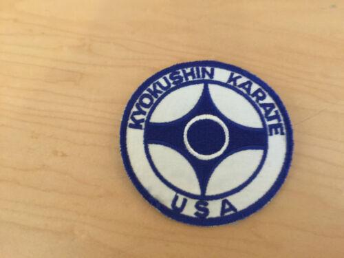 USA kyokushin karate,VINTAGE patch new old stock,1970/'S