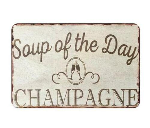 Metal Sign Wall Wormen Cave Gossip Champagne Hot Tub Rule Home Art Poster Decor