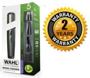 Wahl-Lithium-Ion-Micro-Finisher-Detailer-Face-Ears-Nose-Eyebrow-Hair-Trimmer