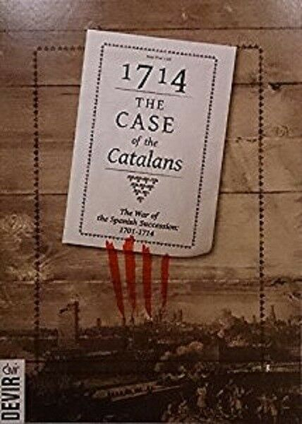DEVIR- BOARD WARGAME - 1714 THE CASE OF THE CATALANS - WAR OF SPANISH SUCCESSION