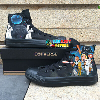 FAMILY GUY STAR WARS hand painted shoes zapatos pintados scarpe dipinte a mano | eBay