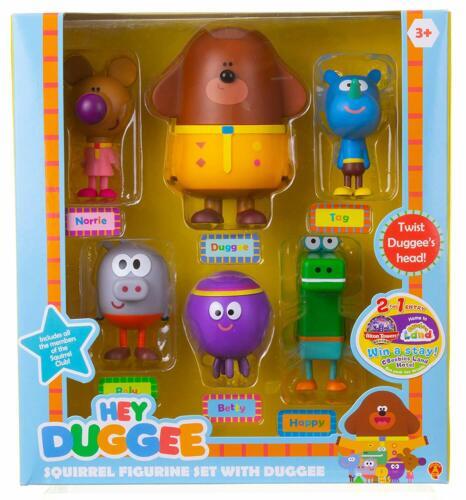 Hey Duggee Figure Boxed Set-BRAND NEW