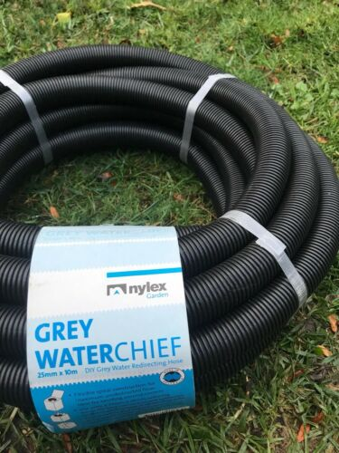 2 X Nylex 10M Grey Water Sullage Diverter Hose Fitting Australian Made RRP$49