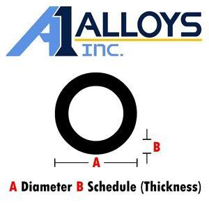 """7/"""" OD x 24/""""Long x 1//2/"""" Wall 6061 T6 Aluminum Round Tube--/>7/"""" OD x 6/"""" ID x .500/""""w"""
