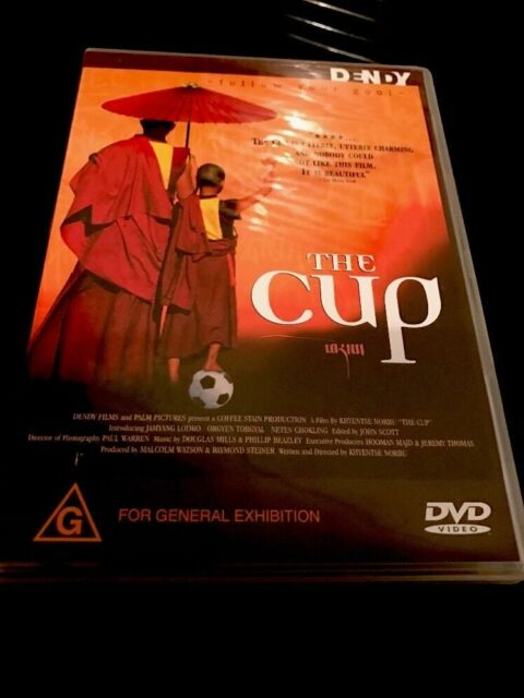 The CUP -Tibetan Buddhist Refugee World Soccer GENUINE REGION 4 DVD RARE OOP NEW