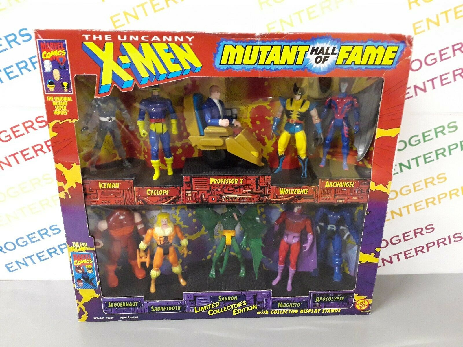 Toybiz Limited Collector's Edition Uncanny X-Hommes Mutant  Hall of Fame 10 Figures  top marque