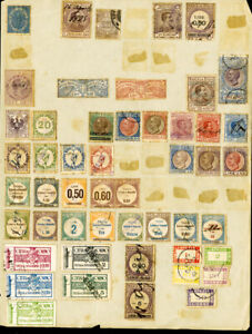Italy Stamps 50x mint/used Revenue 1800's Issues Collection