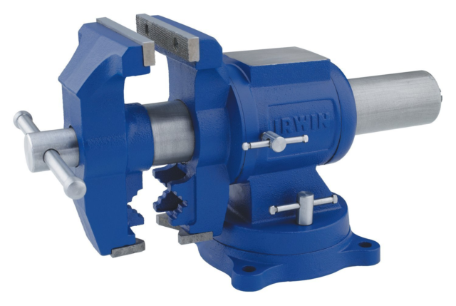 IRWIN 5-in Heavy Duty Cast Iron Multi-purpose Bench Vise Vic