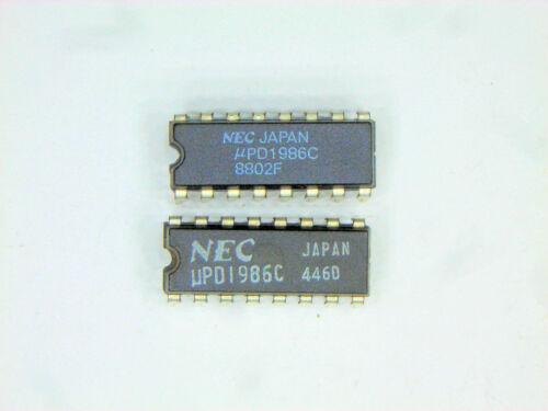 """UPD1986C  /""""Original/"""" NEC   16P DIP IC  2 pcs"""