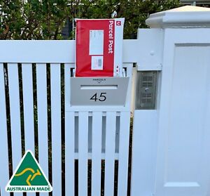 World S Best Fence Letterbox Parcel Letterbox Drop Box Mail Box Secure Delivery Ebay