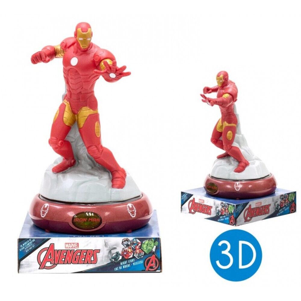Avengers Nachtlicht 3D Iron Man