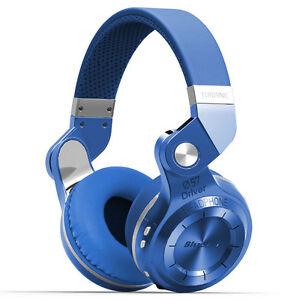 BluedioT2S Turbine Bluetooth4.1 Stereo Headset Wireless Headphones with Mic/Blue