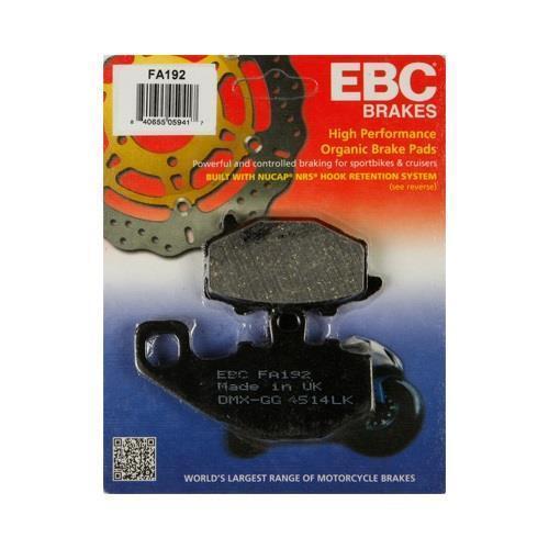 EBC Rear Brake Pads for 88-12 ZX6R ZX6RR 2006-16 Ninja 650 04-10 ZX10R FA192