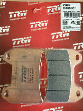 Bremsbelag TRW Sinter Street Satz mit 4 Bel/ägen Z 1000 ABS ZRT00B 07-09 vorne