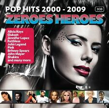 ZEROES HEROES (MADCON, ALICIA KEYS, TRAIN, JUSTIN TIMBERLAKE,...) 3 CD NEU