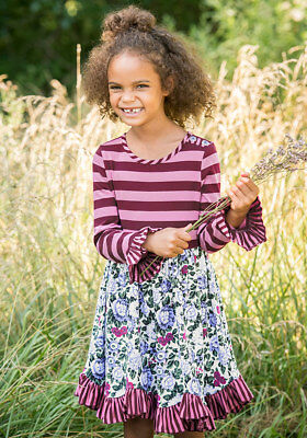 Matilda Jane Harvest Time Dress Choose your own path Girls size 10 NWT