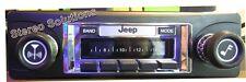 1978-1986 Jeep CJ 5, 7, 8 NEW 300 watt AM FM Stereo Radio iPod, USB, Aux