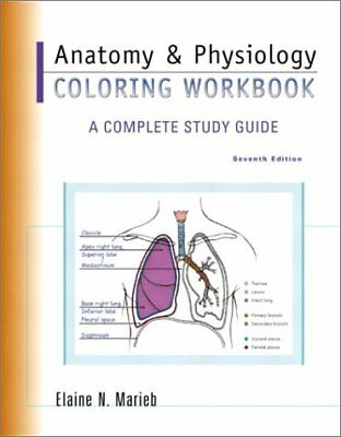 Anatomy & Physiology Coloring Workbook: A Complete Study Guide (7th  Edition) by 9780805359039 | eBay