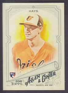 Topps-Allen-amp-Ginter-2018-Base-16-Austin-Hays-Baltimore-Orioles-RC